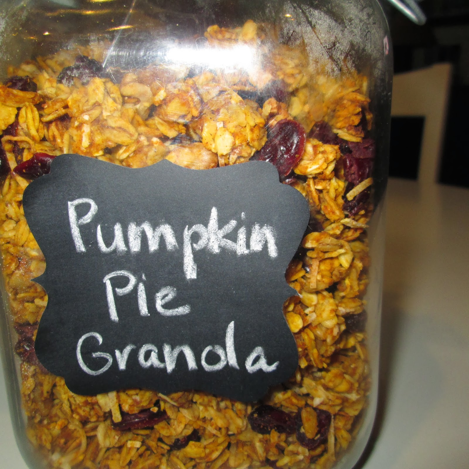 roommom27: Pumpkin Pie Granola