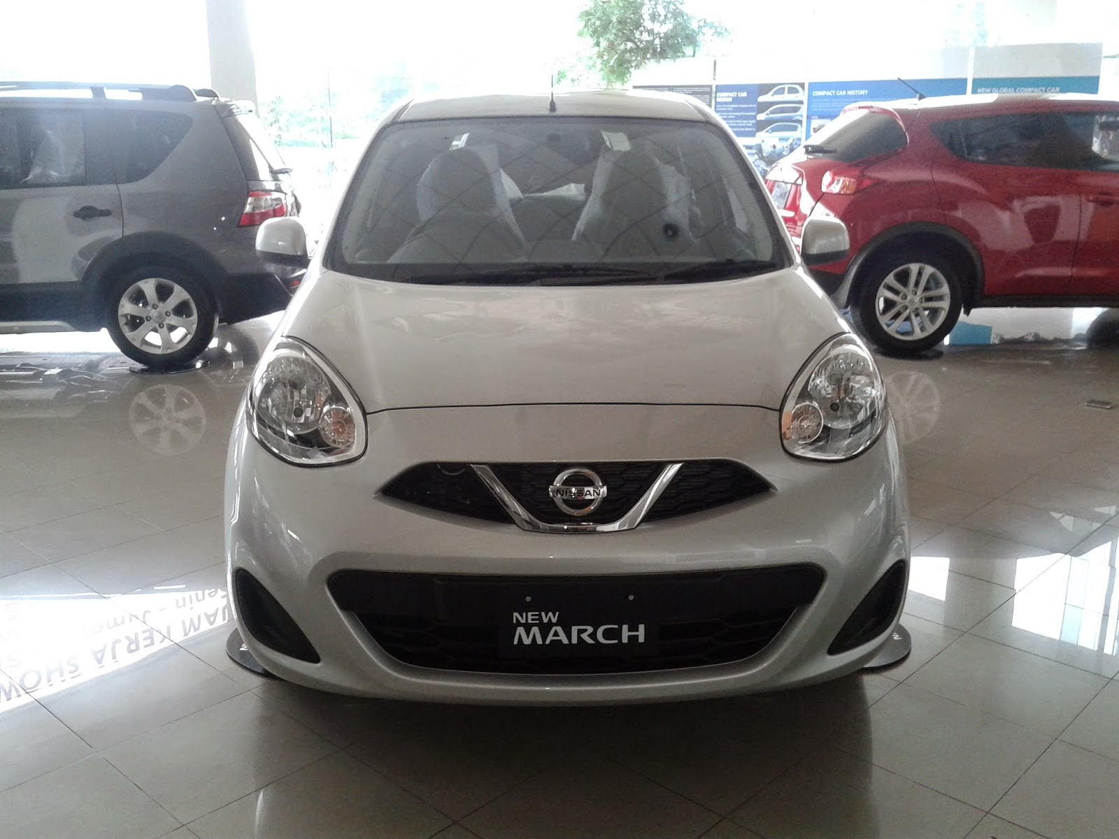 Eksterior Nissan March 1200 cc