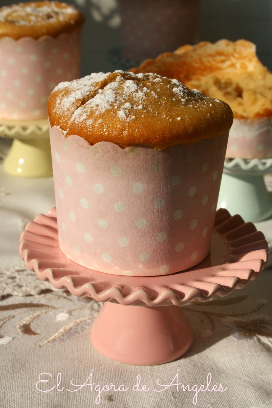 muffins de compota de manzana, magdalenas de compota de manzana,compota de manzana