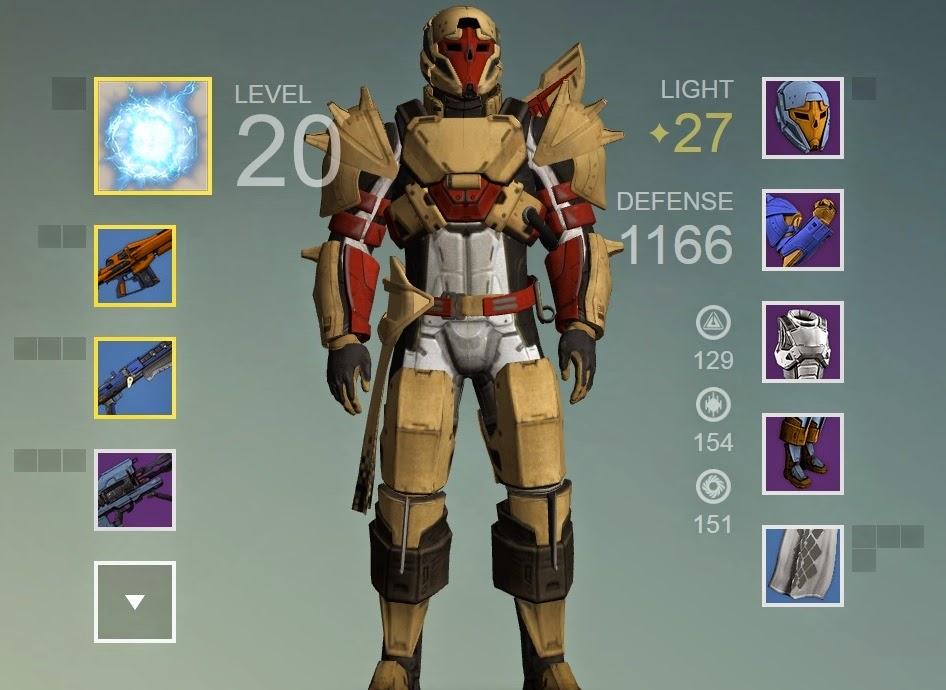 Destiny titan armor helmet chest leg gauntlets bonds pictures