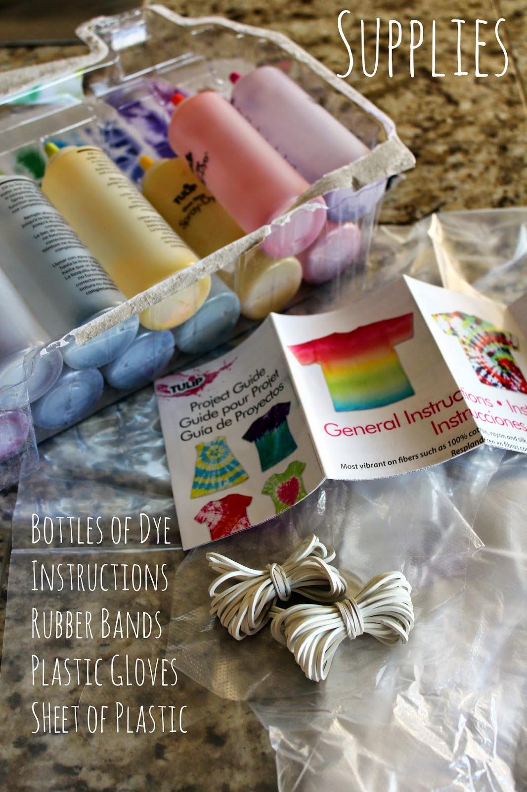 how to make tie dye powder