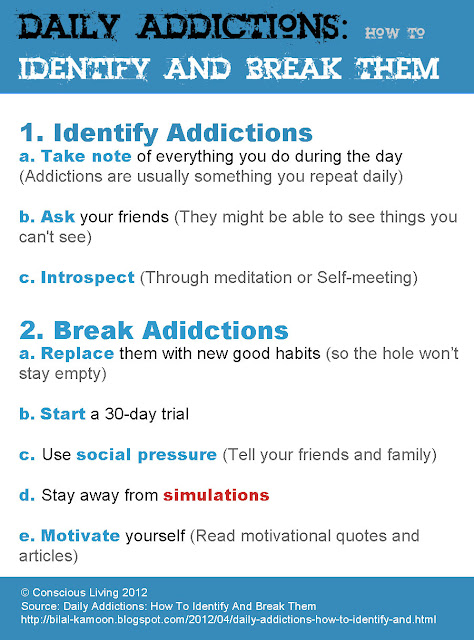 Daily Addictions: How To Identify And Break Them