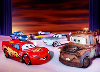 Lightning+McQueen,+Mater,+Sally,+Flo+and+Ramone jpg Disney On Ice Worlds of Fantasy Giveaway!