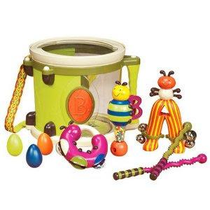 Pre-kindergarten toys - B. Parum Pum Pum Drum - Lime (68626L)