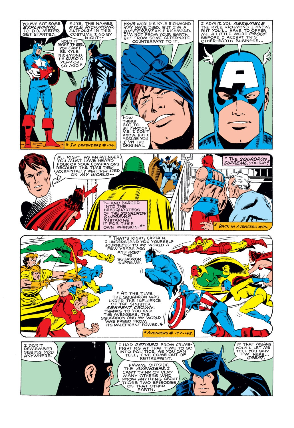 Captain America (1968) Issue #314 #242 - English 6
