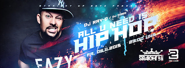 ALL U NEED IS HIP-HOP (DJ RAY-D & DJ OMSO) Eventbild