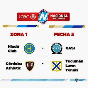 5ta fecha del ICBC Nacional de Clubes