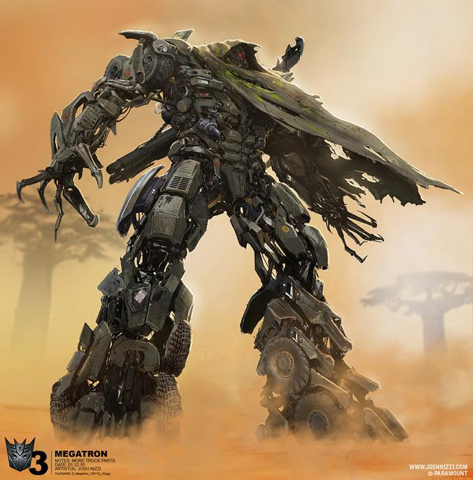 Megatron transformers 3