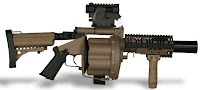 Milkor MGL Multiple Grenade Launcher