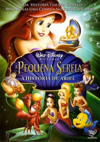 A Pequena Sereia III: A História de Ariel 2008 Torrent - BluRay 720p/1080p Dual Áudio