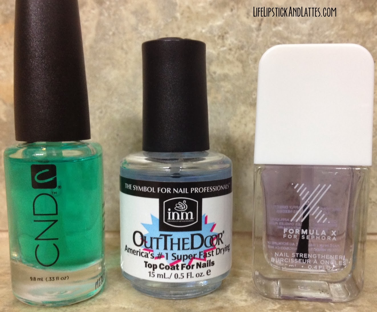 Cnd Sticky Base Coat Out The Door Top Sephora X Formula Nail