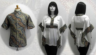 PO A37 MODEL BAJU BATIK WANITA MODERN