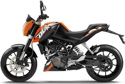 Bajaj KTM Buke 200 Bikes