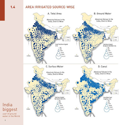 Total Area Ground  Surface Water Canal Area irrigated Source Wise