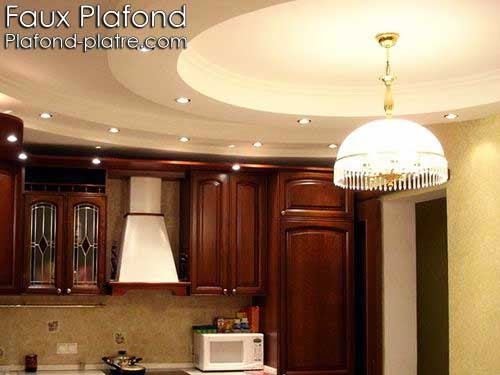 Faux plafond design for Plafond suspendu cuisine
