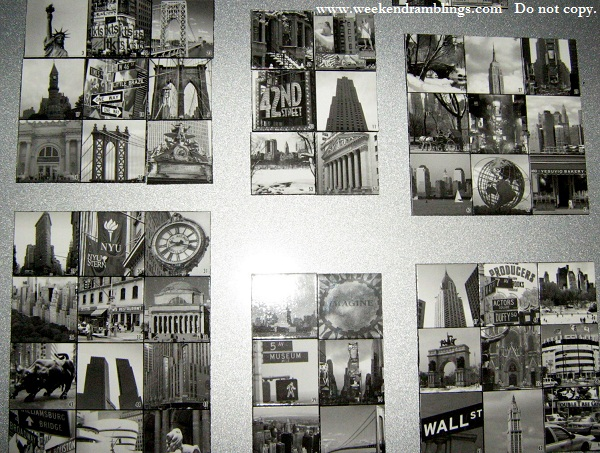 souvenir fridge magnets NYC landmarks