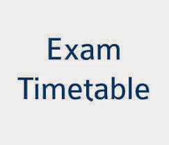 Bangalore university exam time table 2015