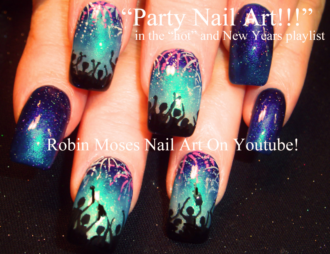 Robin moses nail art 2015 new years nails new year design nye nails nye ideas nye nail art new years ideas new years ideas new year design prinsesfo Image collections