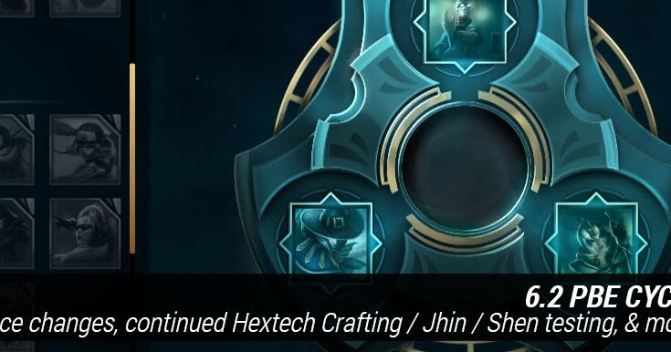 Hextech Crafting Missing