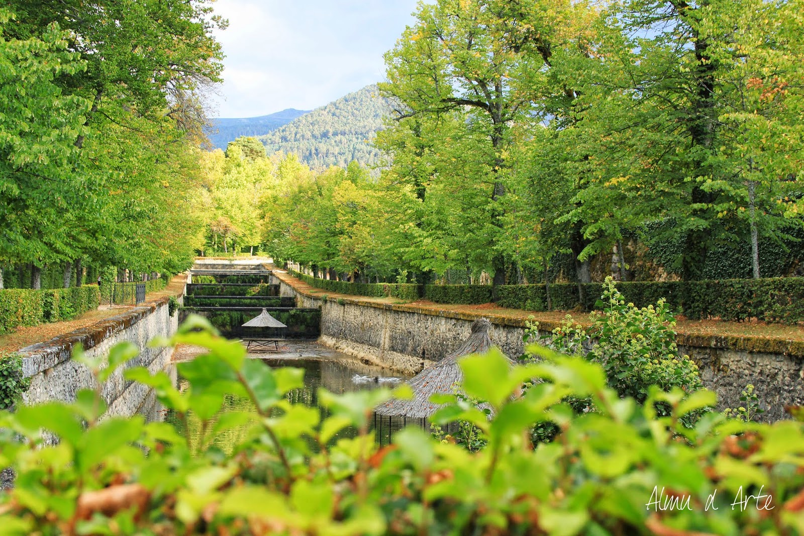 Jardines y fuentes de La Granja de San Ildefonso