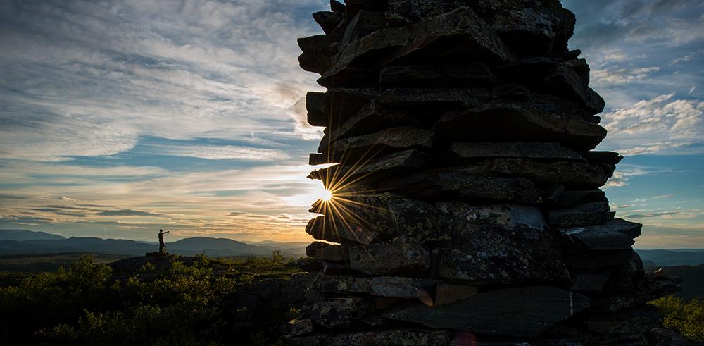 solnedgang, svartfjellet, hølonda, øyvind buljo