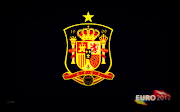 Spain made ​​history as the first team in the world capable of winning three . (spain euro wallpaper )