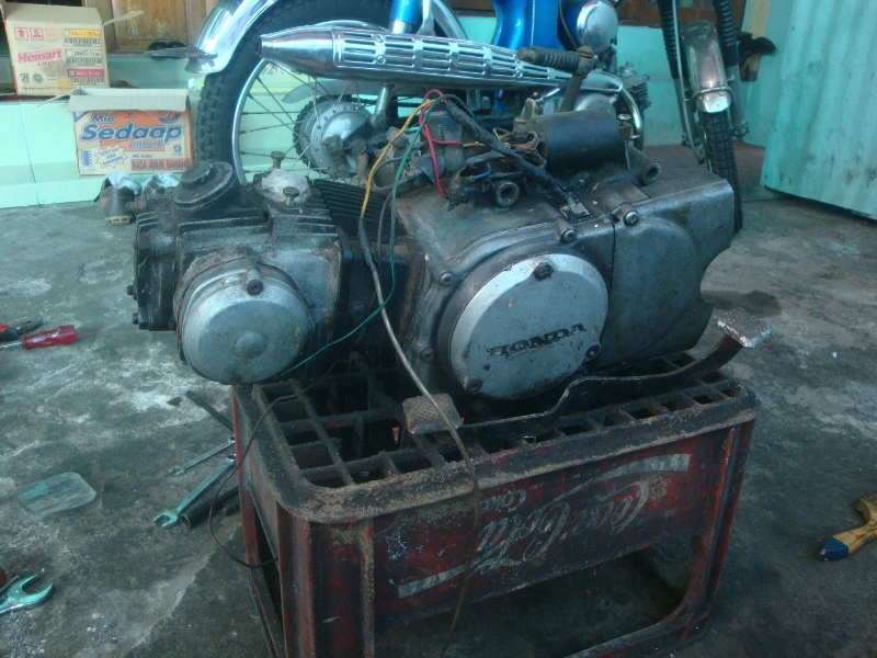 Honda Parts Cheap >> Honda S90 Restoration