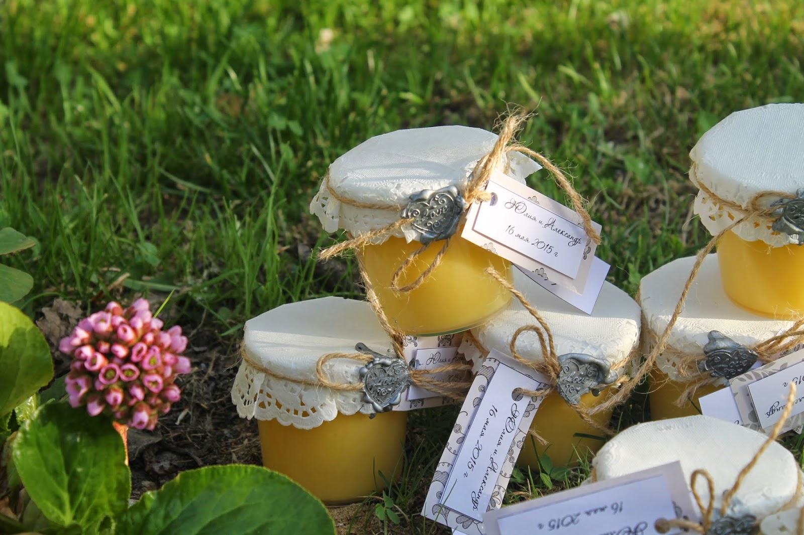 Подарки мед в баночке 616
