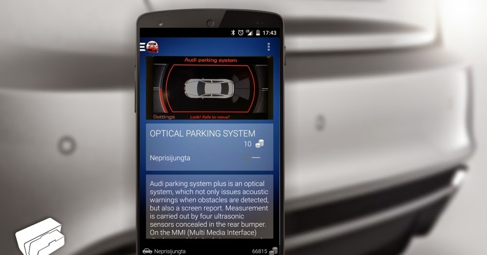 Easy Way To Retrofit For Audi Enthusiasts Optical Parking System For Mmi3g