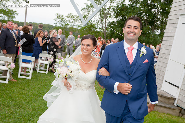 Cape Cod wedding blog photo from Chris Cook Photography about Lisa & Nick – The Orleans Inn – Cape Cod Wedding