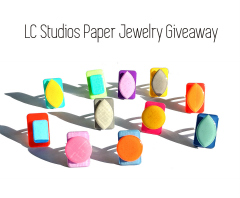 International Giveaway! / LC Studios  - Paper/Resin Jewelry Gift Certificates