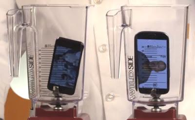 iPhone 5 e Samsung Galaxy SIII alla prova frullatore