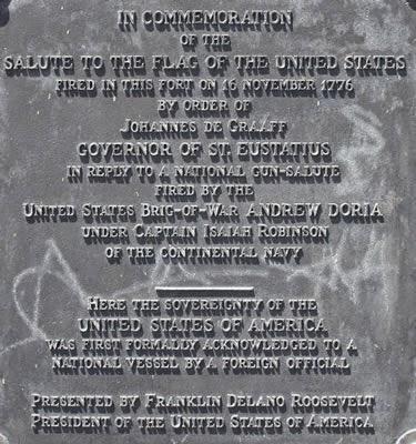 Plaque honoring Johannes de Graaff