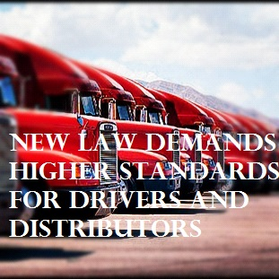 The FMCSA is putting into place stricter regulations for distributors and their drivers.