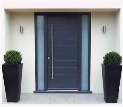 Model pintu rumah minimalis 1 pintu