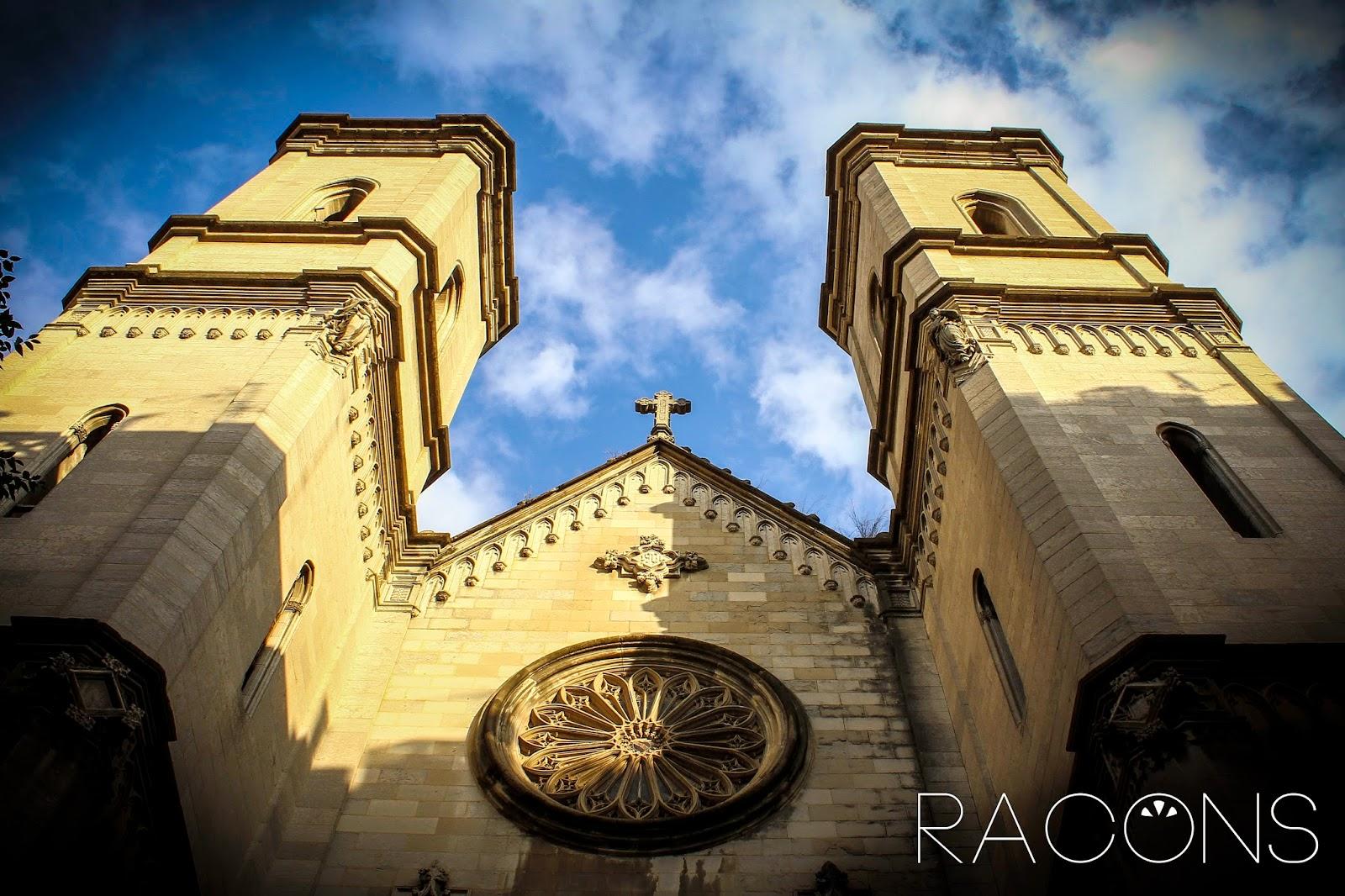Façana de l'Església del Sagrat Cor Girona