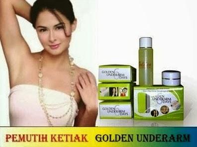 Cream Dan Minyak Untuk Memutihkan Ketiak dan Selangkangan Golden Under Arm