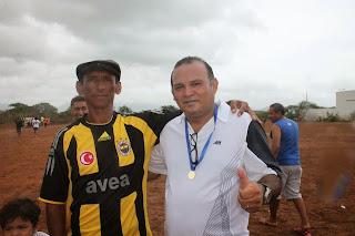 Inauguração do Campo Centenário em Aracoiaba