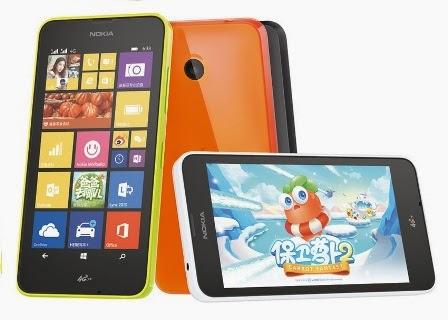 Harga Microsoft Lumia 638