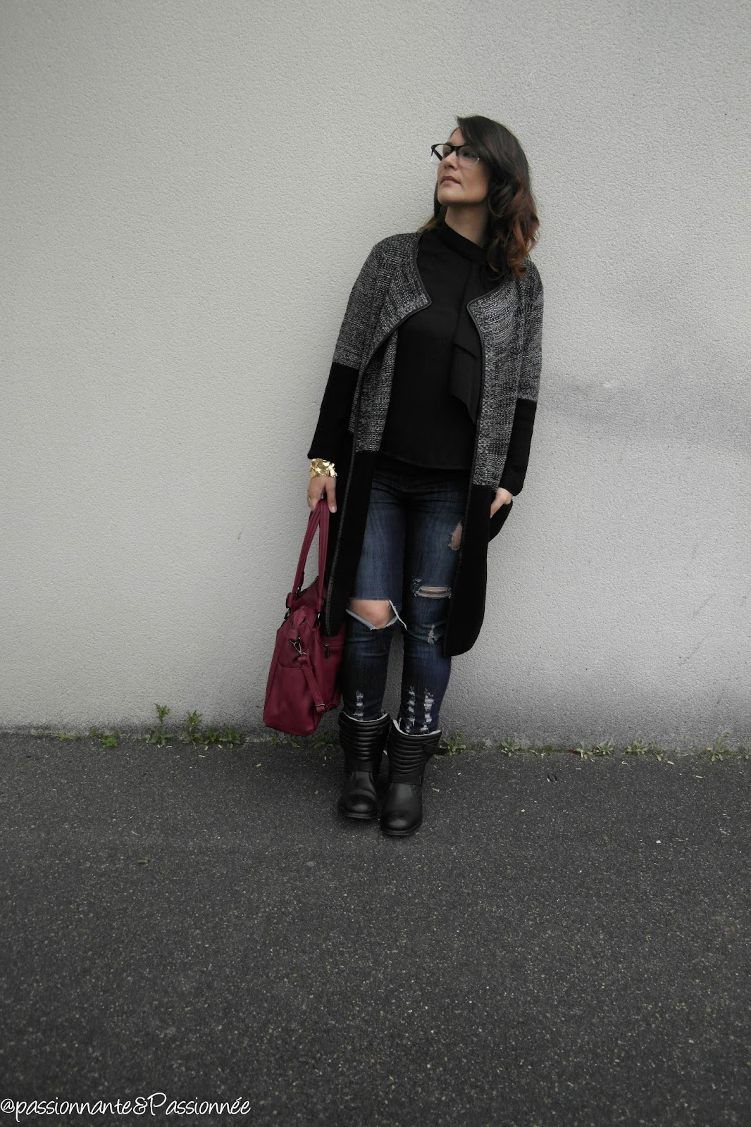 look habillé/casual / grunge