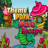 Juegos de Escape Theme Park Mask Escape