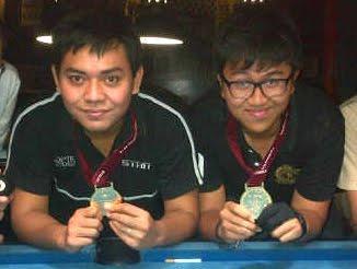 Emas 8-Ball Olimpiade PTK 2012