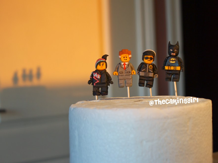 edible the lego movie figurines lego