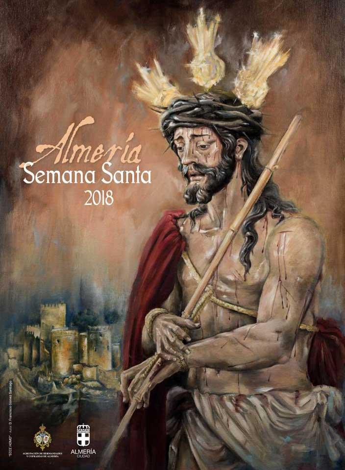 CARTEL OFICIAL DE LA SEMANA   SANTA  ALMERIA 2018