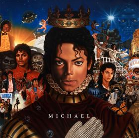 Michael Jackson Michael Album Cover