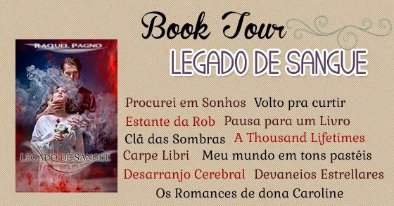 Booktour Legado de Sangue