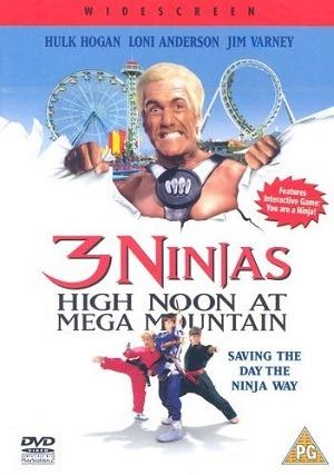 3 Ninjas - Aventura na Mega Mountain Filmes Torrent Download capa