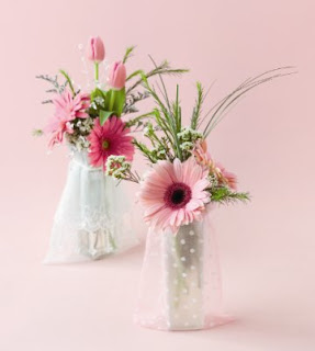 Elegant Wedding Shower Centerpieces With Flowers