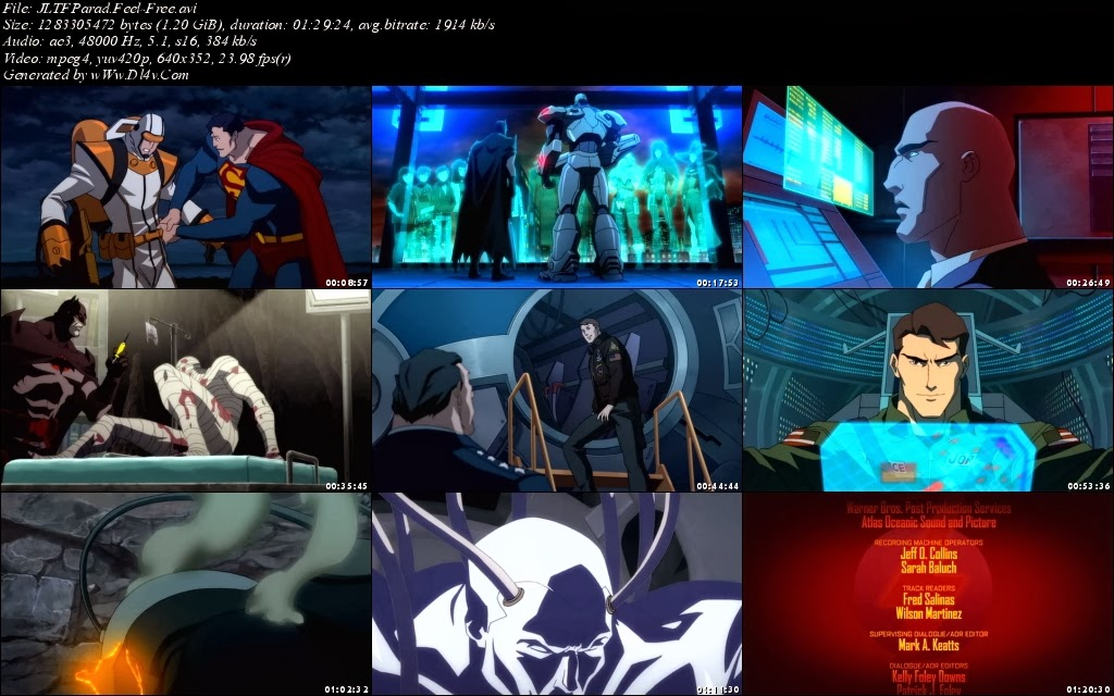 justice league war full movie free
