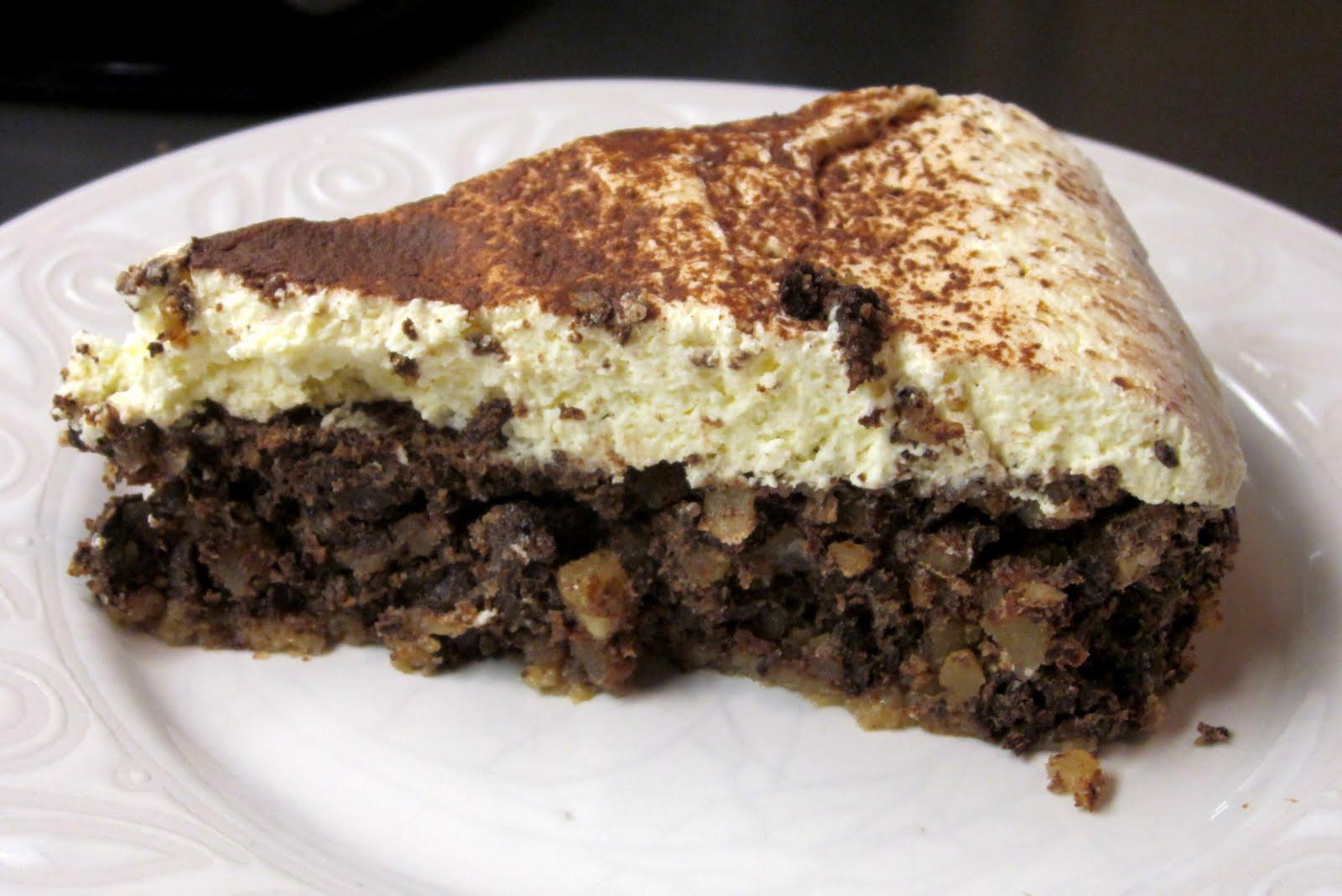 Kuk's Kitchen: Italian Chocolate Almond Torte